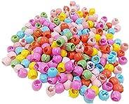 GBSTORE 50 قطعة مشابك شعر صغيرة للنساء الفتيات لطيف حلوى الألوان البلاستيك دبابيس الشعر صانع الخرز أغطية الرأس