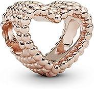 PANDORA Women Pandora/787516/Charms/Rose, Cubic Zirconia - 787516