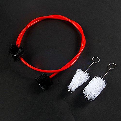 Trompetenpflege Reinigungspaket 3 Bürsten Musikinstrument Reiniger