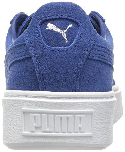 Puma Suede Platform Cuir Baskets Puma Black-Puma White