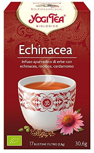 Yogi Tea Infusión de Hierbas Echinacea