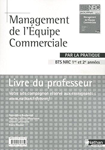 Management de l'Équipe Commerciale /par la pratique par Gilles Boisson