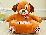 VERCART Sofa Fauteuil Coussin Canapé Siège Chair Chaise Jouet Enfant Bébé Peluche Animaux Garçon Fille Original 1 Place Chien L