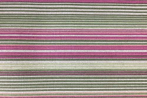 Manifattura Toscana Mantel En Panamá Rows Imprimir Rosa Oval 150x230