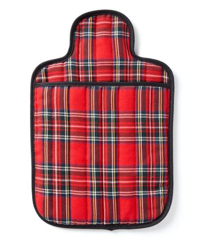 Hotties-Microhottie-Microwave-Hot-Water-Bottle-Quilted-Royal-Stewart-Tartan-Red