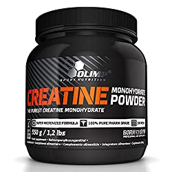 Olimp Creatine Monohydrat Powder, 1er Pack (1 x 550 g Dose)
