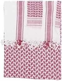 Kombat Shemagh Scarf Red/White