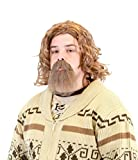 The Big Lebowski Dude Wig and Goatee Costume Set