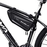 Happyroom Borsa Telaio Bici Impermeabile Borsa Telefono Bicicletta Borsa Bici Cellulare Borsa MTB Telaio per iPhone XS Max/8 Plus/7 Plus/Samsung Note8/S9/S10 sotto eccetera Smartphone (1.5L)