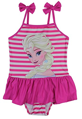 Disney -  Costume intero  - ragazza Rosa a strisce 116 cm