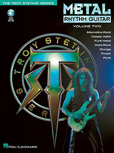 Métal rhythm guitar vol. 2 guitare+CD (The Troy Stetina)