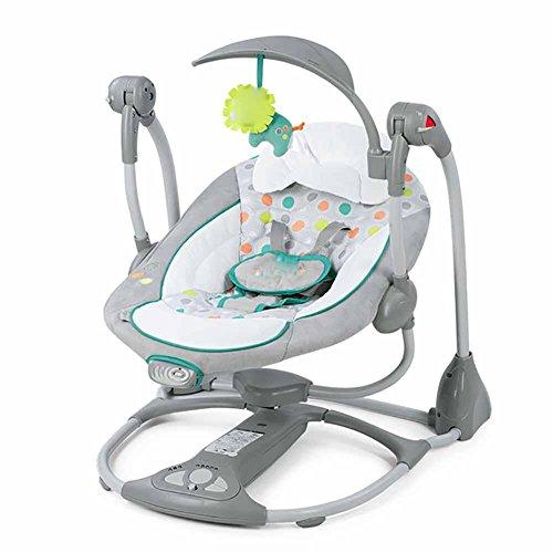 GUO Lehnstuhl Elektro beschwichtigen Schaukelstuhl Babybett schwingen bassinets Bett schlafen zurück