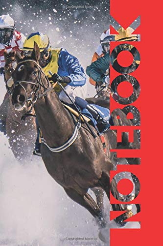 Notebook: Horse Race Betting Professional Composition Book for Online Results and Notes por Molly Elodie Rose