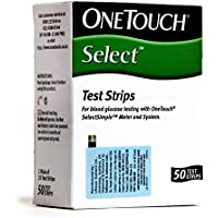 Preisvergleich für OneTouch Select 50 Test Strips by OneTouch Select