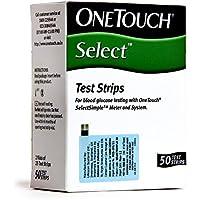 OneTouch Select 50 Test Strips by OneTouch Select preisvergleich bei billige-tabletten.eu