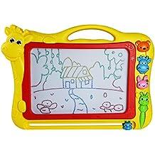 Pizarras Mágicas con Pluma y Animal Sello Magnético Dibujo de Pintura para Niños 3 Años (Color Aleatorio)