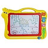 Tavolo da Disegno Magnetico Cancellabile Magna a Colori Doodle Vari Colori per Bambini 3 Anni-Tema Animale