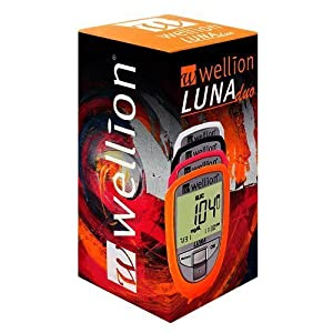 Wellion Luna Duo – Anzeige Cholesterin und Blutzucker