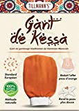 Tillmann's Gant de Crin Gommage Kessa Marocain-Exfoliant corps Femme-Nettoyage des Cellules Mortes de la Peau-Gants de toilette-Spa-Hammam-Massage