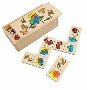 legespiel lernspiel domino holzdomino holz tiere eisenbahn woody lok ged chtnisspiel f r. Black Bedroom Furniture Sets. Home Design Ideas