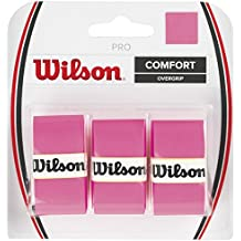 Wilson Pro Overgrip - Overgrips raqueta , color rosa, talla NS