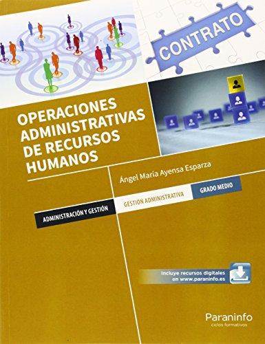 Operaciones administrativas de recursos humanos. 2 Edición