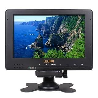 Lilliput 667GL-70NP/H/Y LCD de 7 pulgadas de monitor portátil de pequeño campo de resolución Full HD 1080p con salida HDMI, YPbPr, entradas RCA de vídeo para cámaras de vídeo profesionales (B0052M9X2W) | Amazon price tracker / tracking, Amazon price history charts, Amazon price watches, Amazon price drop alerts