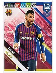 PANINI ADRENALYN XL FIFA 365 2019 - Tarjeta de Base de Lionel Messi #63