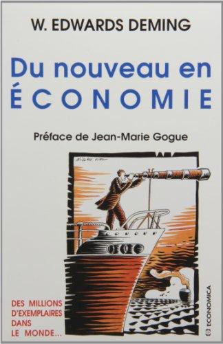 Du nouveau en économie