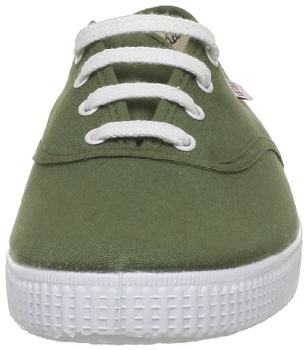 Victoria Inglesa Lona, Sneaker Unisex-Adulto Verde (Kaki)