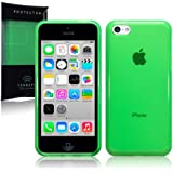 Apple iPhone 5C TPU Gel Skin Case / Cover (Green)