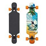 Jan Banan® Komplett Longboard Cruiser Drop Through Flex 2