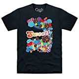 Official Candy Crush Sweetness T-shirt, Pour homme, Noir, L