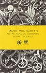 Notas para un seminario sobre Foucault par Montalbetti