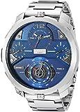 Diesel Herren Chronograph Quarz Uhr mit Leder Armband DZ4361