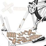 style4Bike Pflasteraufkleber Pflaster für Fahrrad & Co Fun Sticker Auto Pflasterbogen