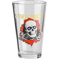 Powell Peralta Cristal Ripper Pint Glass Transparente (Clear)