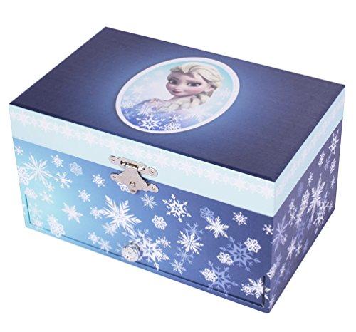 Trousselier - Caja de joyería con música y diseño de Elsa Frozen...