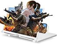 """Screen Magnifier for Cell Phone, 14"""" 3D HD Mobile Phone Screen Amplifier with Folding Stand Holder, Magni"""