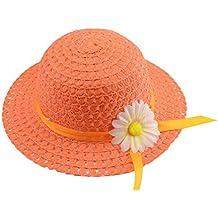 Doitsa sombrero de paja niño Niña – Panama sombrero niños Ete – Gorra de  playa niño 6ccaf13d9b3