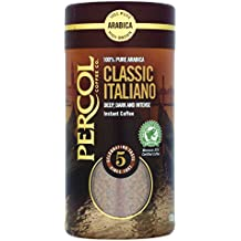 Percol Rainforest Alliance Italiano Instant Coffee 100g (Pack of 6)