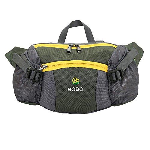 Wewod Gürteltasche Außenfarbe Taschen Urlaubsreisen portable Paket Grün