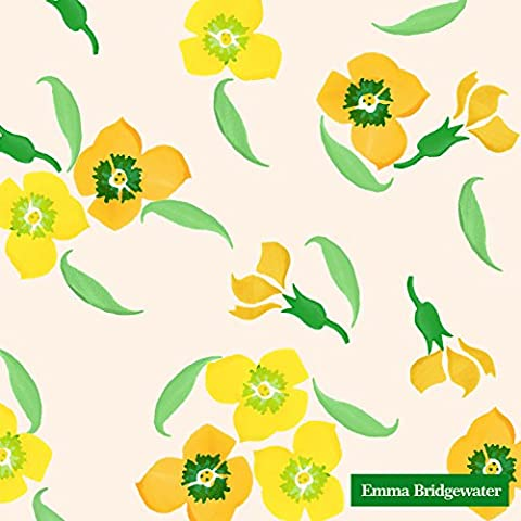 Yellow Wallflower 3ply Luncheon Napkin 20pk