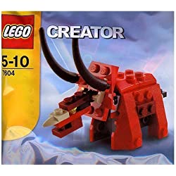 Lego Creator Bagged Set #7604 Triceratops Dinosaur by LEGO