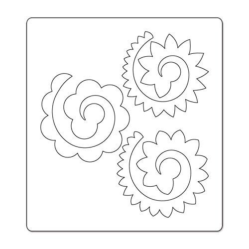 Sizzix Thinlits Fustella, Fiori 3-D # 3 - 2