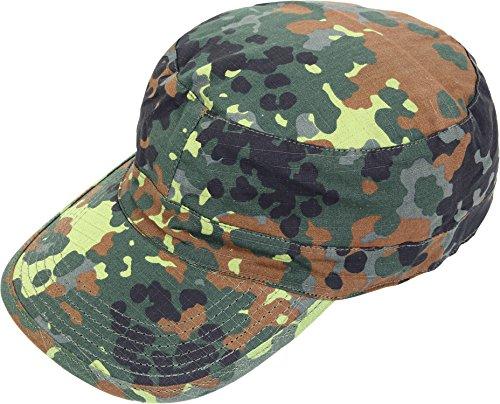 US Feldmütze BDU Cap RipStop Army Mütze L,Flecktarn