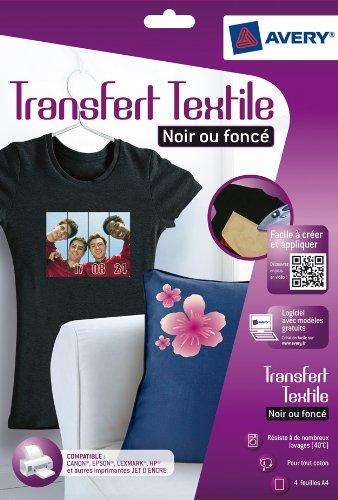 avery-4-papiers-transferts-t-shirt-textile-noirs-ou-fonces-a4-jet-dencre-c9406