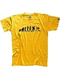 5c06956cb871 Shirtzshop Herren T-Shirt Bauarbeiter II Betonmischer Baustelle Evolution,  SS-Shop-Evo bauarb2