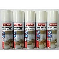 5 Set Beaphar Protecto Máquina de humo Insektenvernebler Bomba de pulgas je 200ml