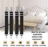 Verstellbare Hochleistungs-Bettgurte für Bettlaken Bettlakenhalter und -gurte Clips Bettlaken Befestigungen Hosenträger für verschiedene
